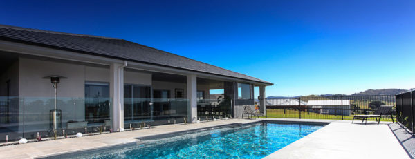 Pool entertaining area valley homes newcastle maitland