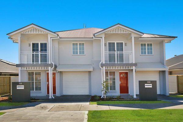 Duplex home design builder