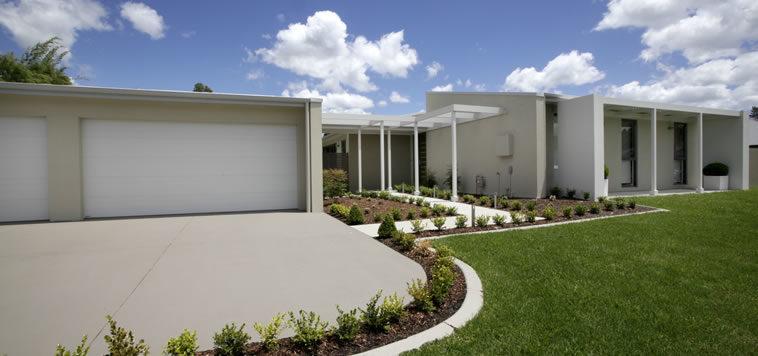Architectural home design build custom