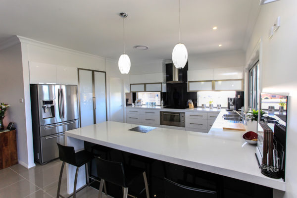Kitchen custom design home builder open plan modern Maitland