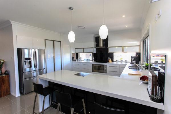 Kitchen custom design home builder open plan modern Maitland