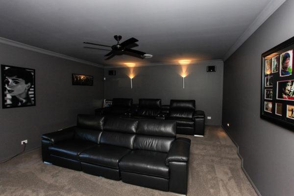 Home theatre builder custom home design Maitland