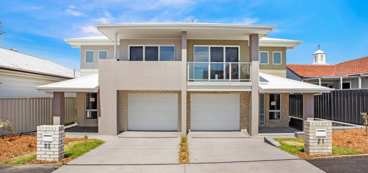 Valley Homes builder newcastle hunter maitland duplex