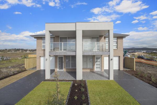 Valley Homes 2 storey duplex Newcastle builder