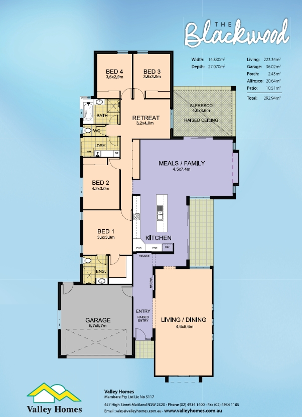 Valley Homes In House Design Plans