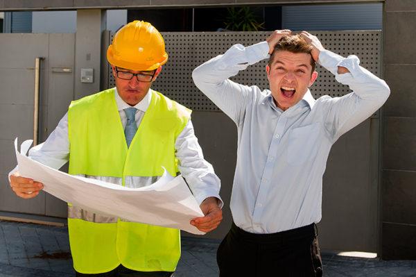 House building stress builder construction plans fail