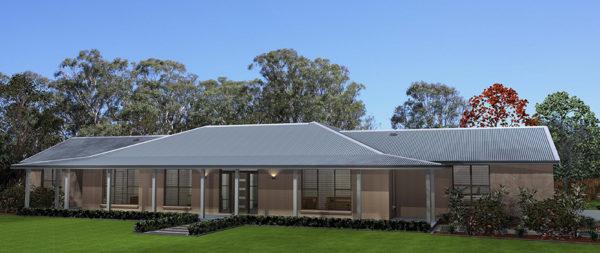 Acreage home design Hunter Valley