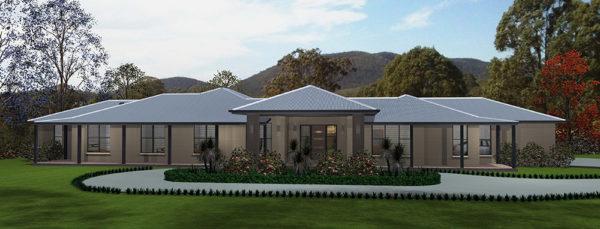 Acreage Home design hunter Valley plan land property