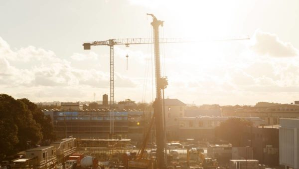 Newcastle construction boom