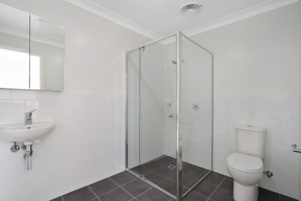 Drury St Jesmond Multi-unit development bathroom