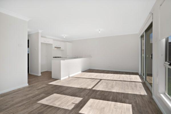 Drury St Jesmond Multi-unit development kitchen open plan