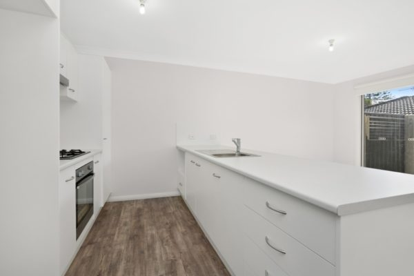 Drury St Jesmond Multi-unit development kitchen open plan