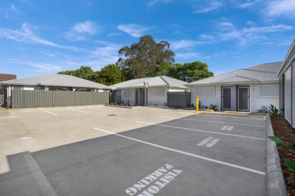 Drury St Jesmond Multi-unit development parking