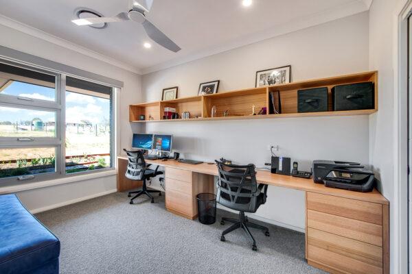 Acreage build Joseph House Valley Homes office