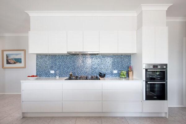 Acreage build Joseph House Valley Homes kitchen open plan