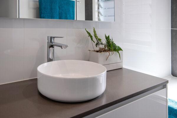 Acreage build Joseph House Valley Homes bathroom