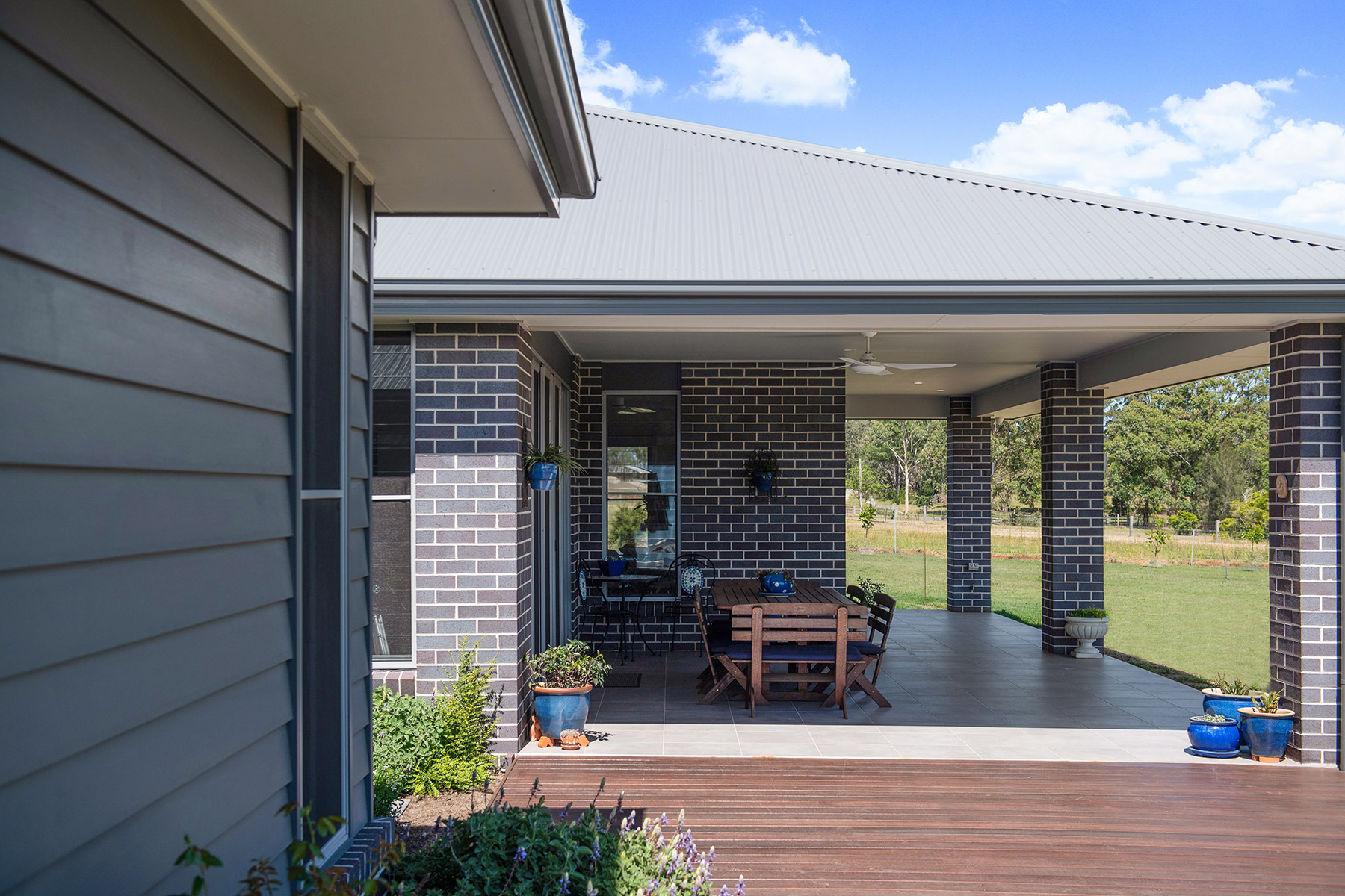 Acreage build Joseph House Valley Homes alfresco